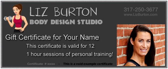 Call Liz Burton At 250 3677 Or Email Me To Order Your Gift Certificates